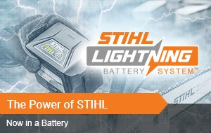 Experience the Power of STIHL Lightning Battery Systems
